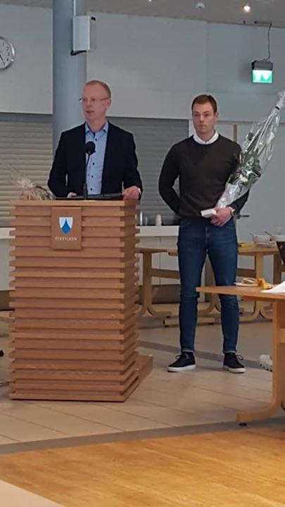 #innsatsprisen2019 gjekk til brødrene Knut Henning og Petter Andre Aursnes. Sykkylven kommune gratulerer