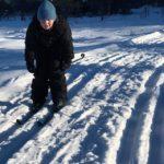 1.-.5 trinn sklir inn i helga på suuuupre skispor 🤩😁🤩 GOD HELG! 😎🌞❄️⛄